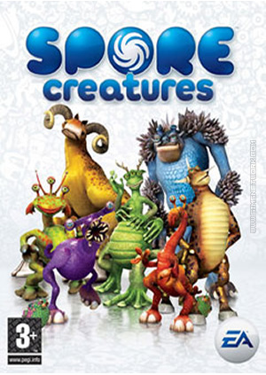Spore Creatures for mobile phones box art packshot