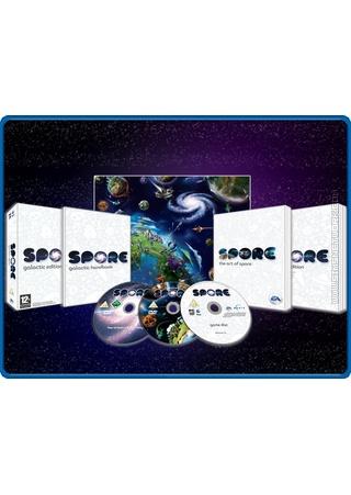 Spore (Galactic Edition) box art packshot EU