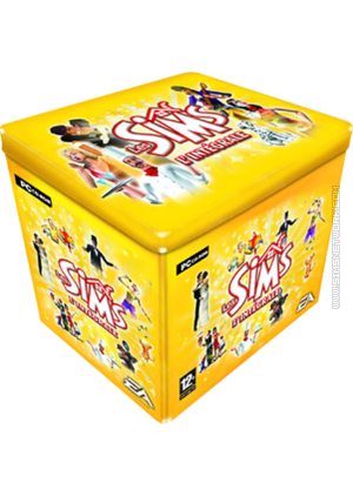 Les Sims L'intégrale special box doos blik