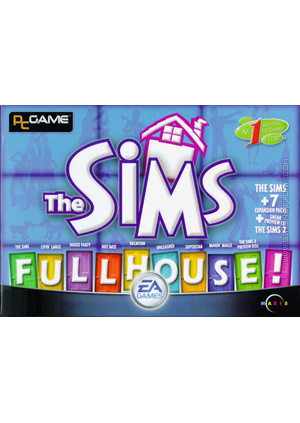 The Sims: Full House box art packshot