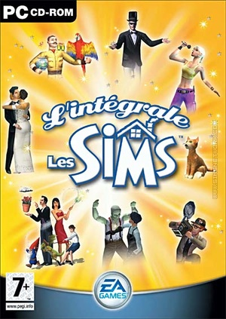 L'intégrale Les Sims box art packshot