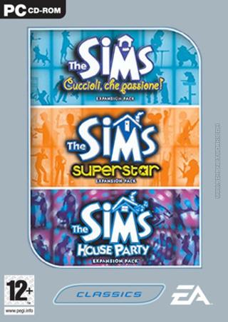 The Sims: Triple Expansion, volume one box art packshot