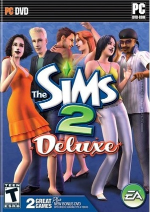 The Sims 2: Deluxe box art packshot US
