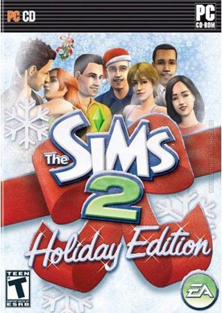 The Sims 2: Holiday Edition (2006) box art packshot US
