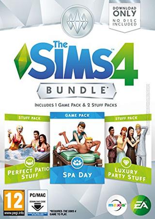 The Sims 4: Bundle Pack #1 Packshot Box Art