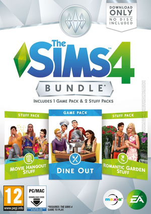 The Sims 4: Bundle Pack #3 box art packshot