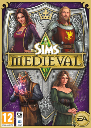 The Sims Medieval Collector's Edition box art packshot
