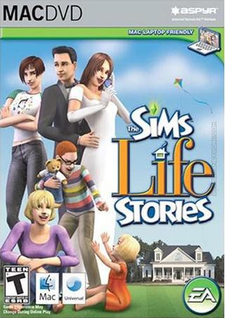 The Sims: Life Stories for Mac box art packshot
