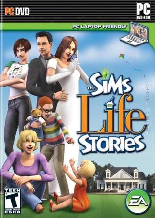 The Sims: Life Stories box art packshot US