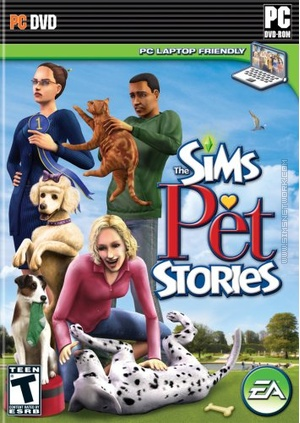 The Sims: Pet Stories box art packshot US
