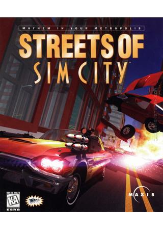 Streets of SimCity packshot box art
