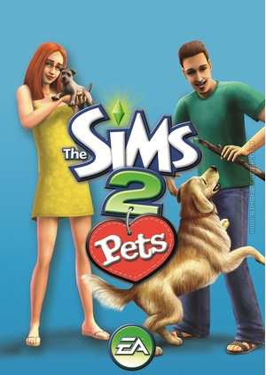 The Sims 2 Pets Box Art Packshot