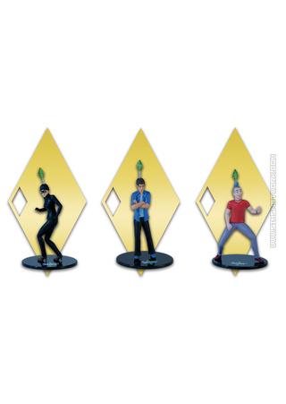 Los Sims 3: Mundos Sims (Edición Especial) figurines