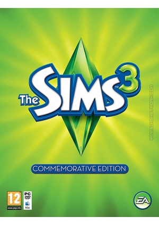 The Sims 3: Commemorative Edition packshot box art