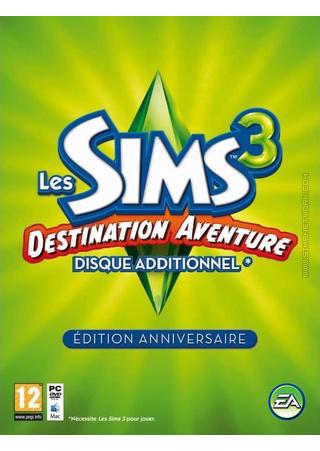 The Sims 3: World Adventures Commemorative Edition packshot box art