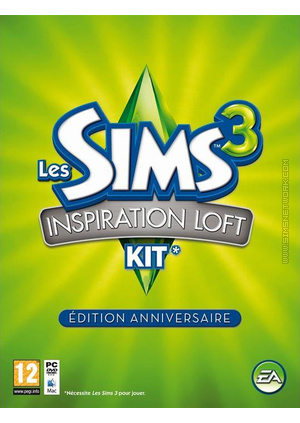 The Sims 3: Design & High-End Stuff Commemorative Edition packshot box art