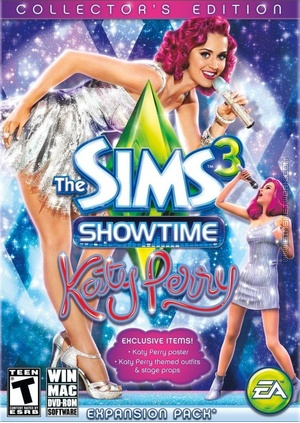 The Sims 3: Showtime (Collector's Edition) packshot box art
