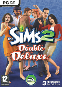 The Sims 2: Double Deluxe box art packshot