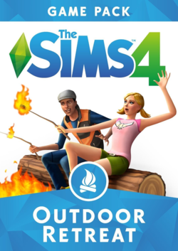 The Sims 4: Outdoor Retreat box art packshot