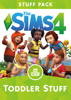 The Sims 4: Toddler Stuff pack packshot box art
