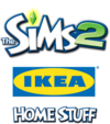 The Sims 2: IKEA Home Stuff logo