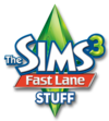 The Sims 3: Fast Lane Stuff logo