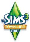 The Sims 3: Town Life Stuff logo