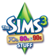The Sims 3: 70s, 80s & 90s Stuff logo