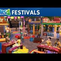 De Sims 4 Stedelijk Leven: officiële festivaltrailer
