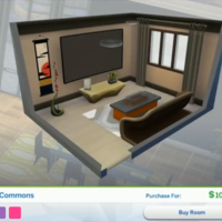 The Sims 4: City Living Styled Rooms - Meek Commons