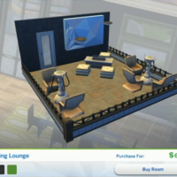 The Sims 4: City Living Styled Rooms - Bubbling Lounge