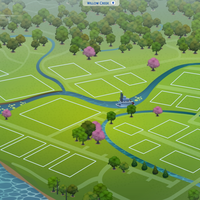 The Sims 4: Willow Creek world (empty)