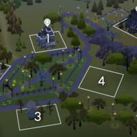 The Sims 4: Forgotten Hollow world neighbourhood #1