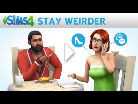 The Sims 4: Stay Weirder - Weirder Stories Official Trailer