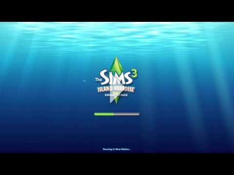 The Sims 3 Island Paradise loading screen