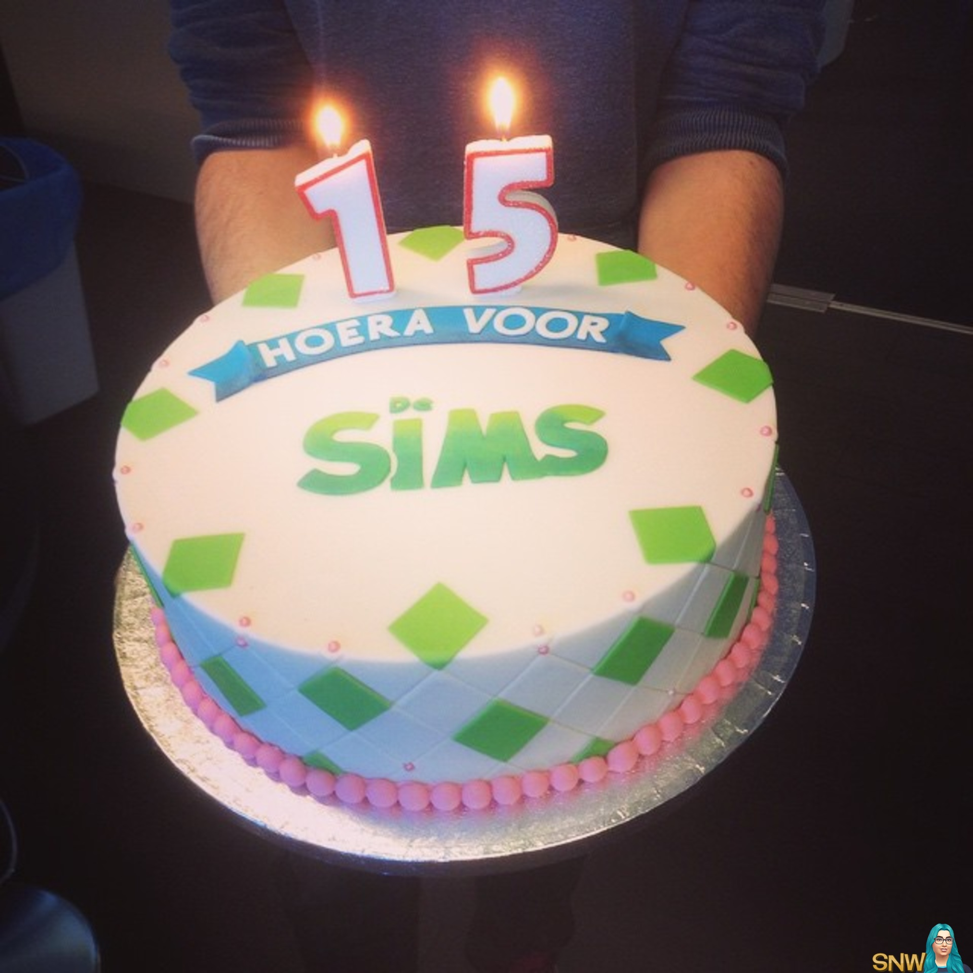 Birthday Cake In The Sims