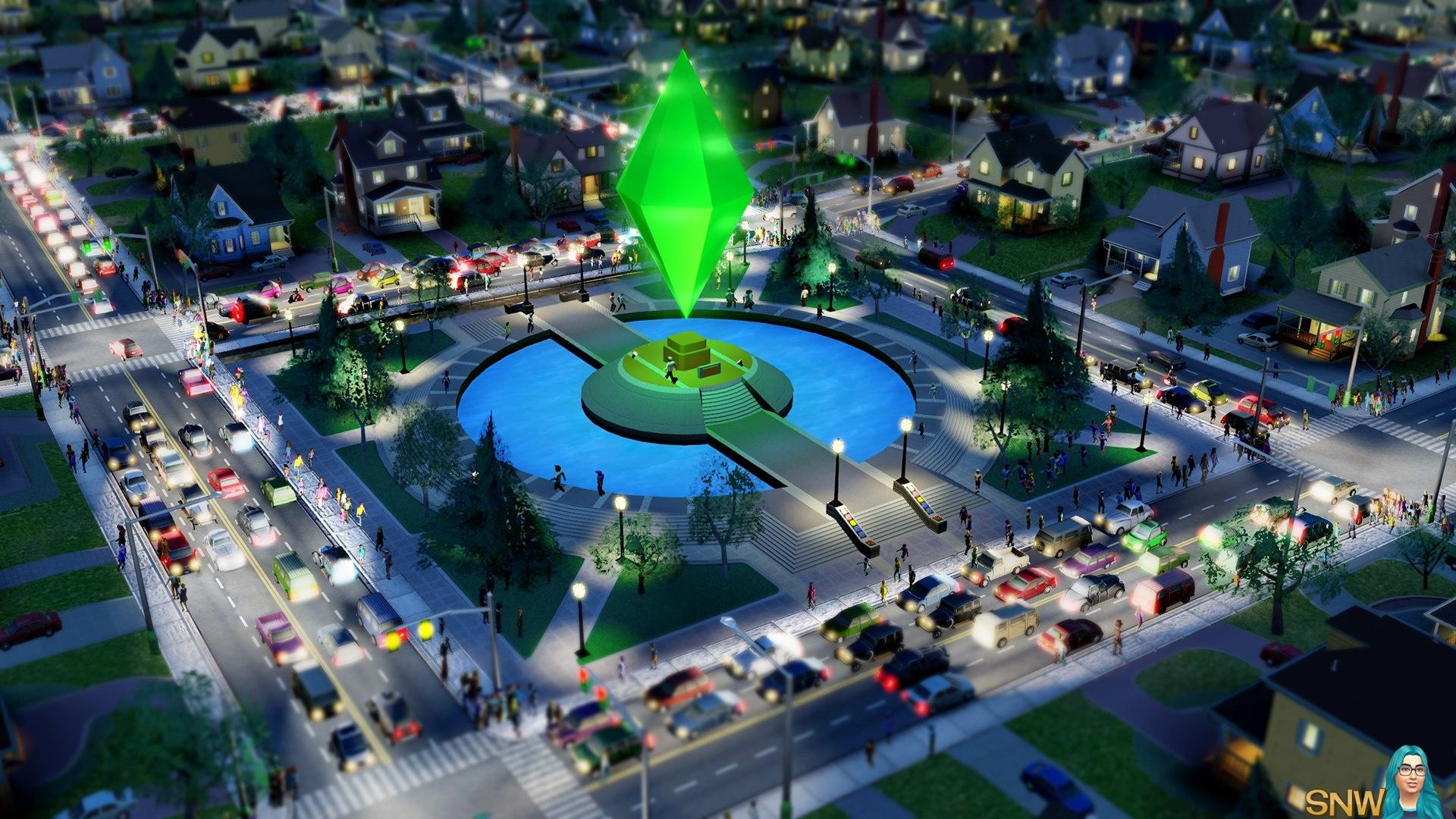 Plumbob Park! | SNW | SimsNetwork com