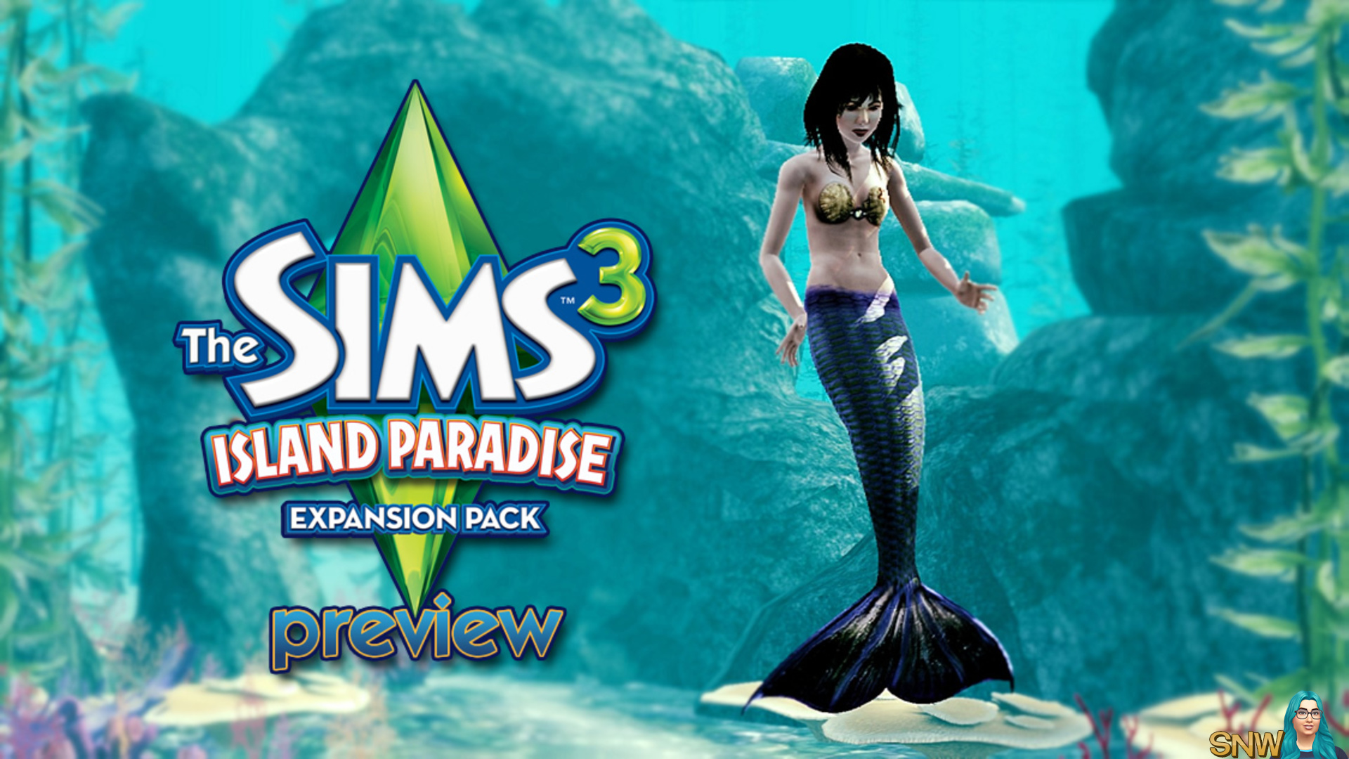 How to become a mermaid in Sims 3: The Paradise Islands (The Sims 3: Island Paradise)