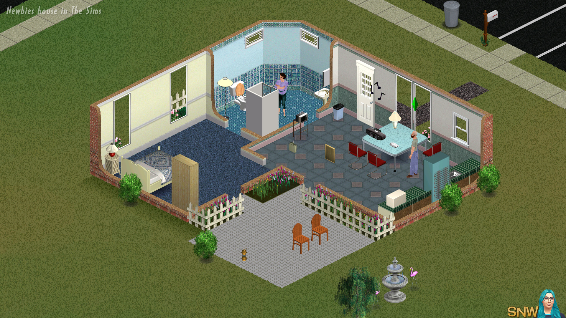 How To Paint Walls In Sims