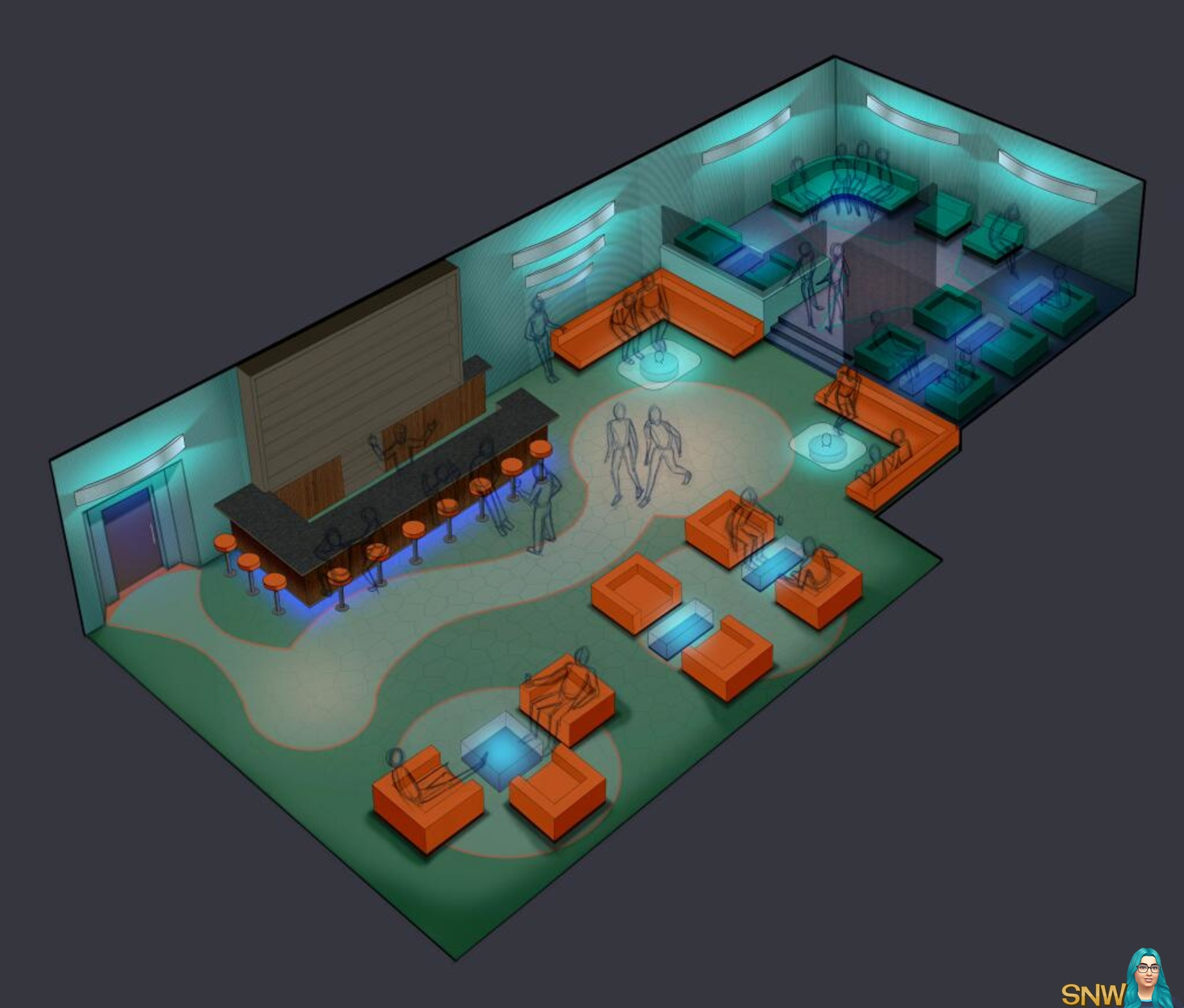Super Nightlife Concept Arts Snw Simsnetwork Com Download Free Architecture Designs Scobabritishbridgeorg