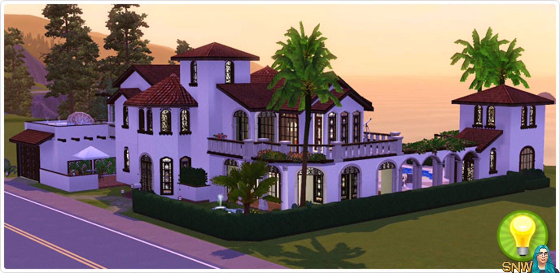 the sims 4 how to build on van haunt estate