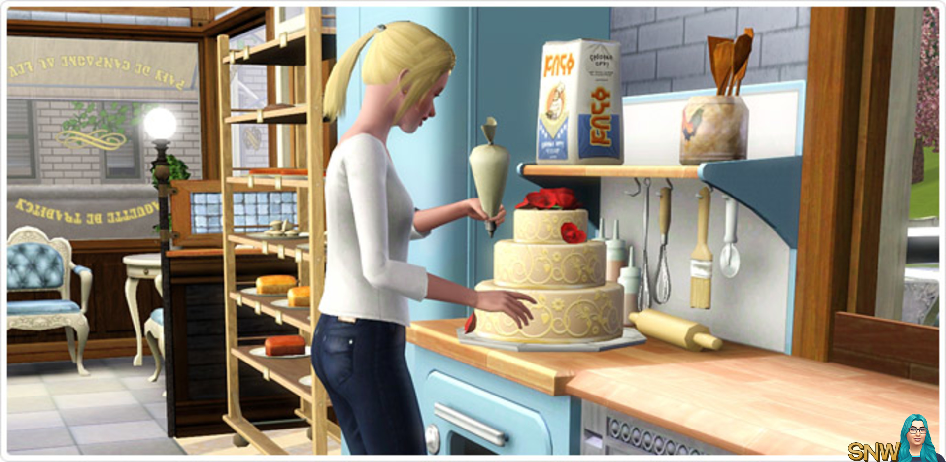 bakers station sims 3 free download