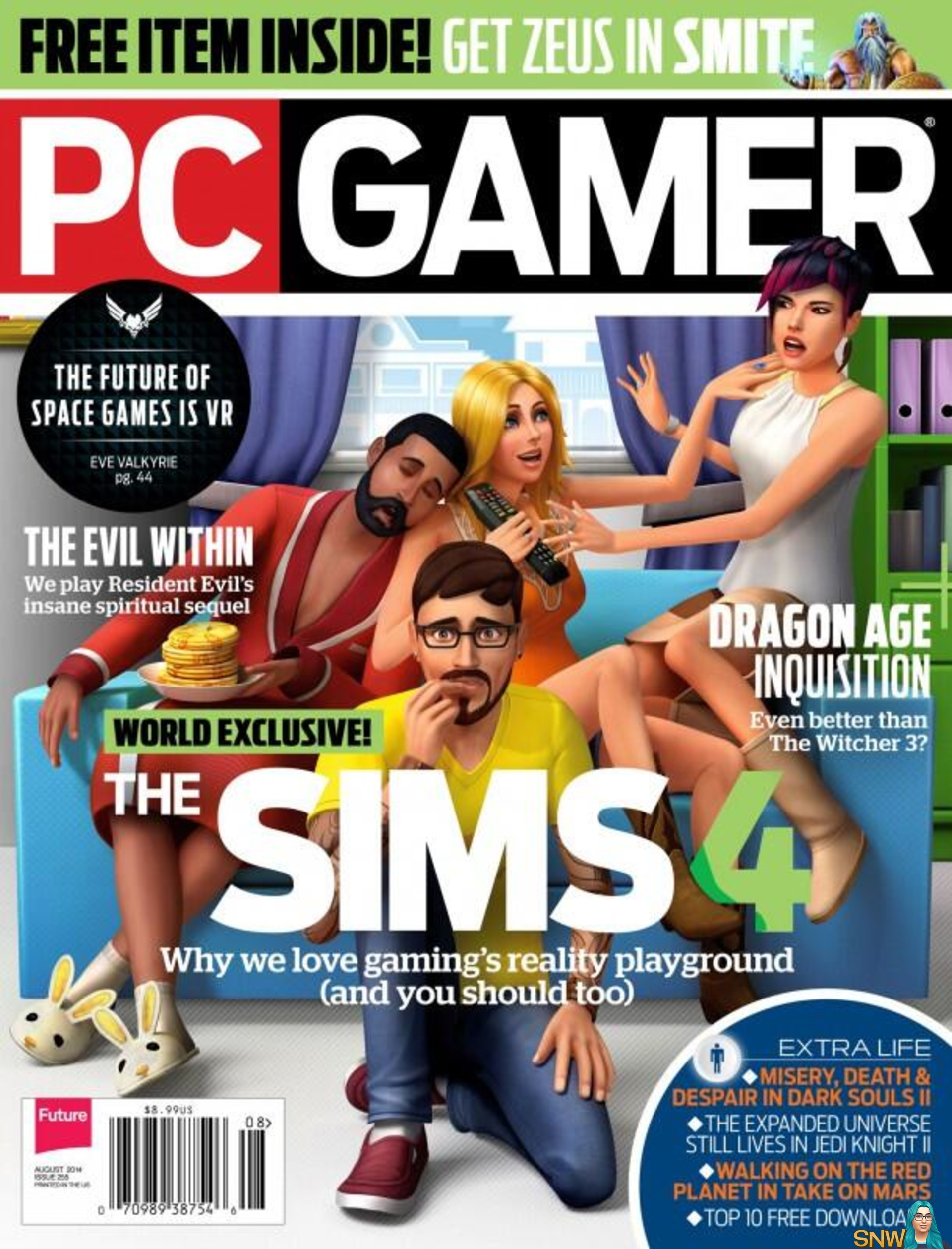 PC Gamer magazine! | SNW | SimsNetwork com
