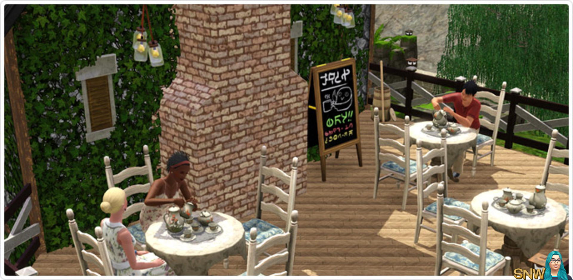 The Sims 3 Store: Brunch At The Old Mill (First Impression
