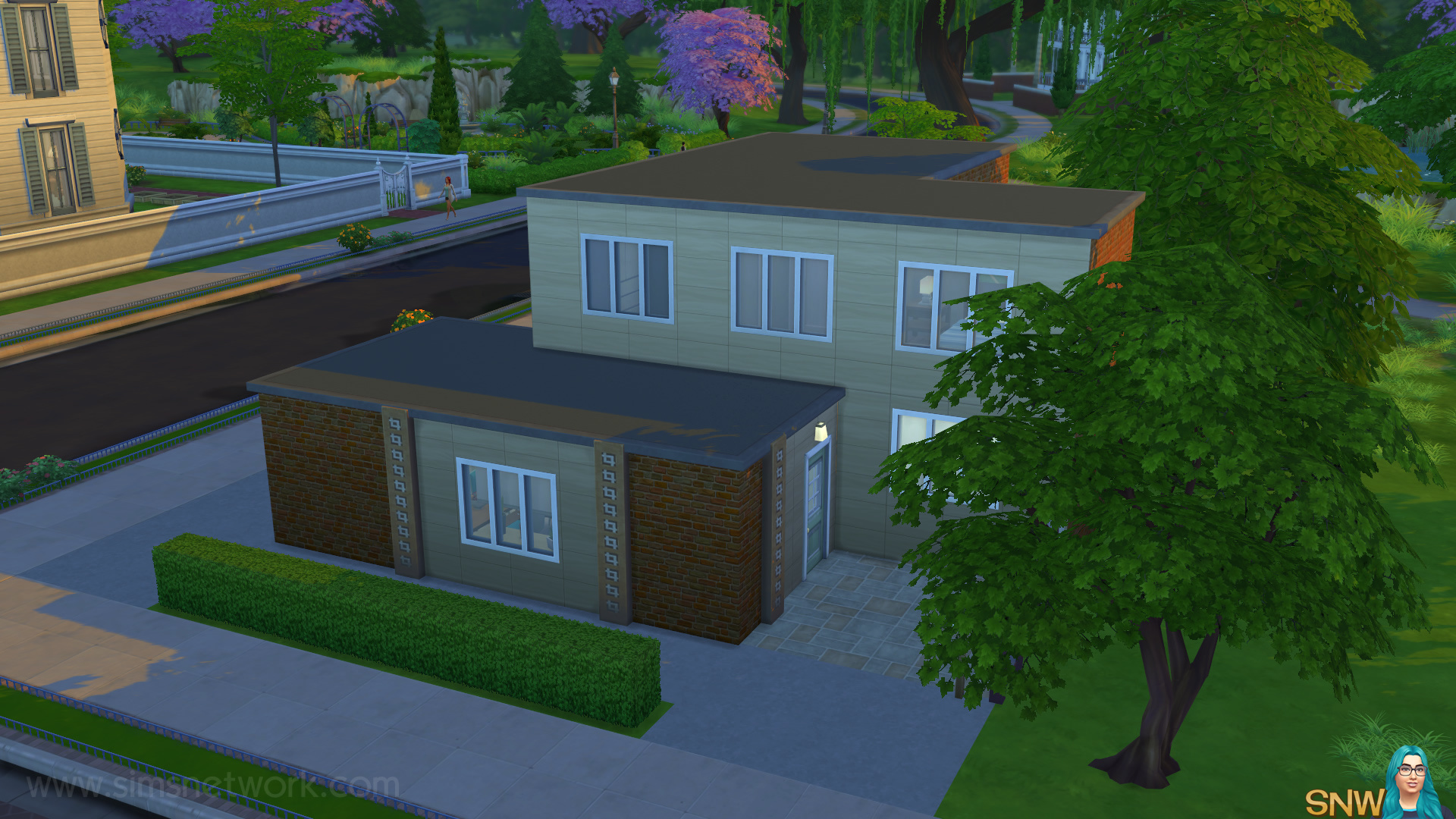 Fine My Real Life House In The Sims 4 Snw Simsnetwork Com Download Free Architecture Designs Scobabritishbridgeorg