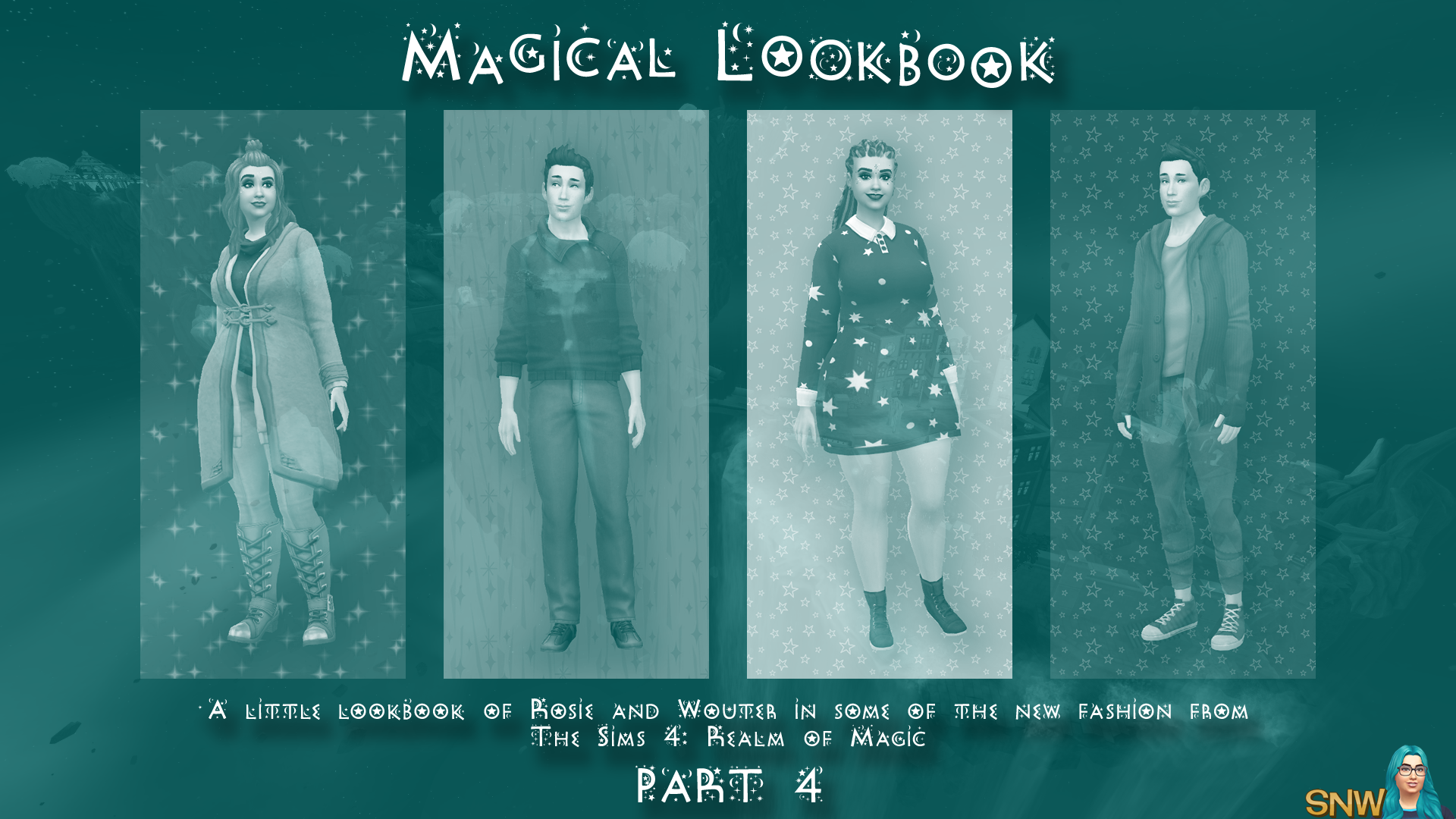 The Sims 4: Realm of Magic - A Little Lookbook by Rosie and Cheetah - Part 4