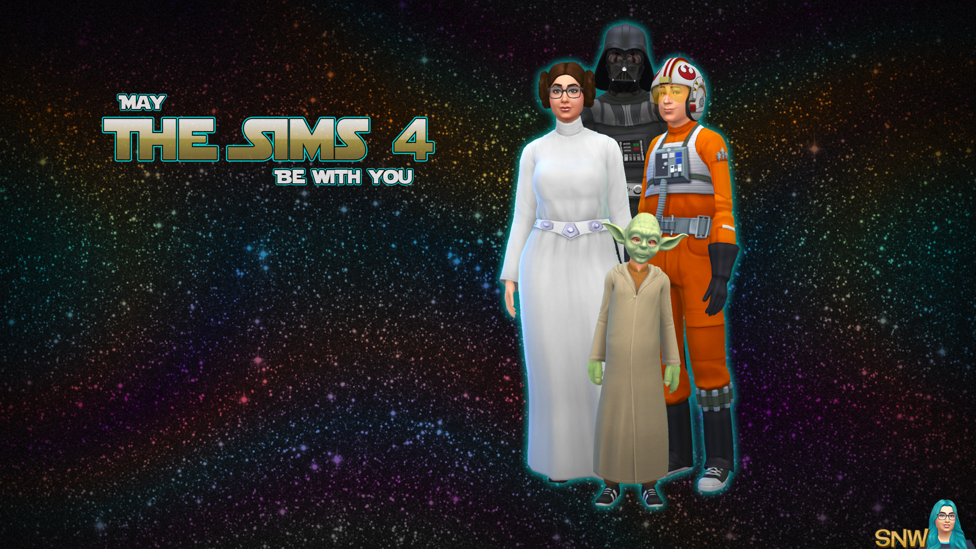 May The Sims 4 Be With You Wallpapers Snw Simsnetwork Com