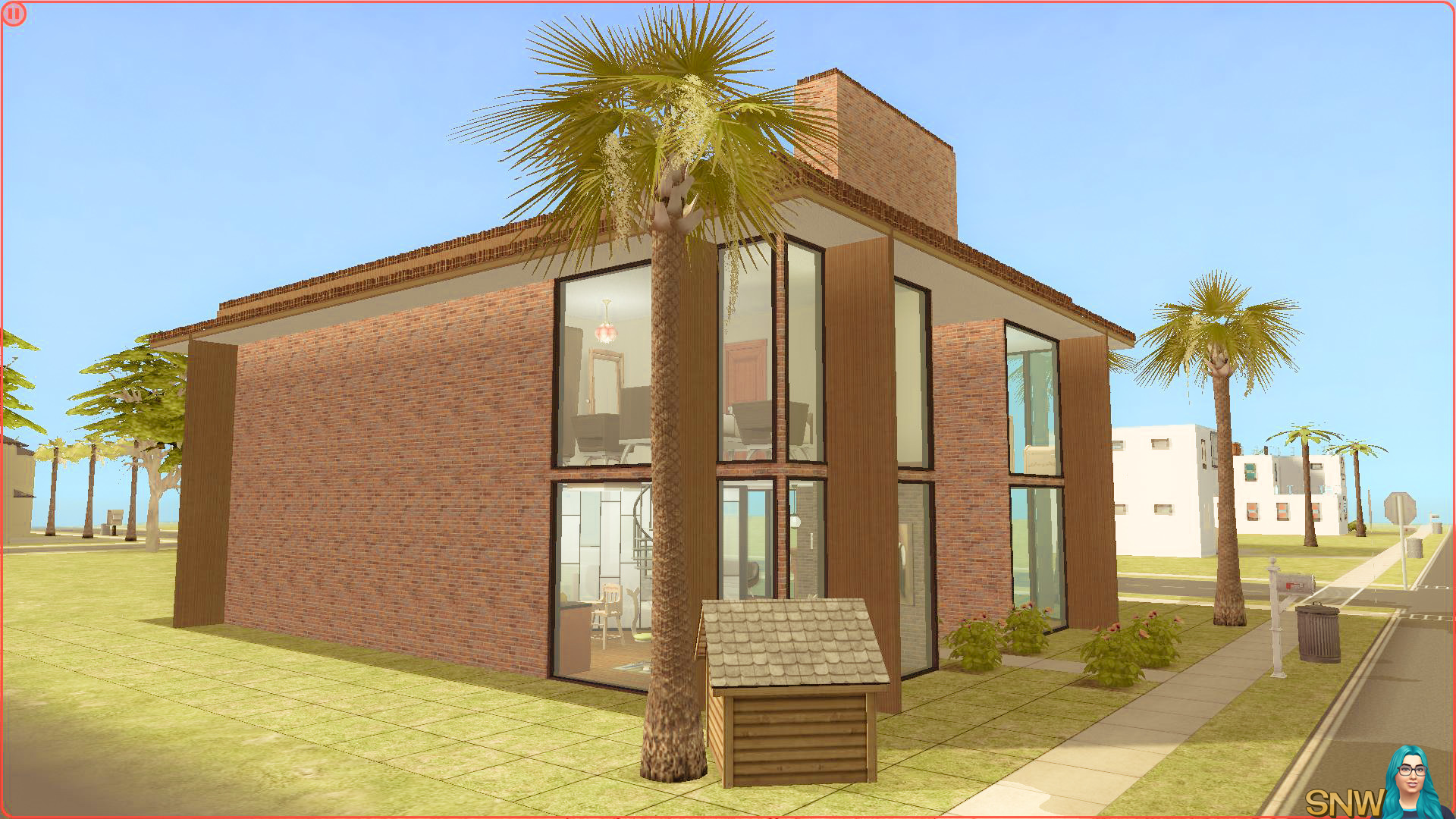 Mid century modern pleasantview snw for Modern house ep 9