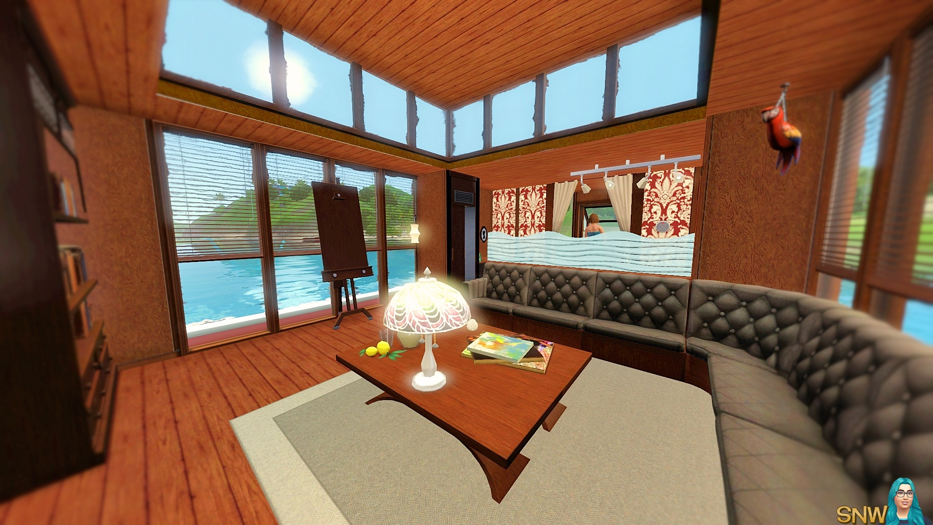 Navicula Houseboat Snw Simsnetwork Com