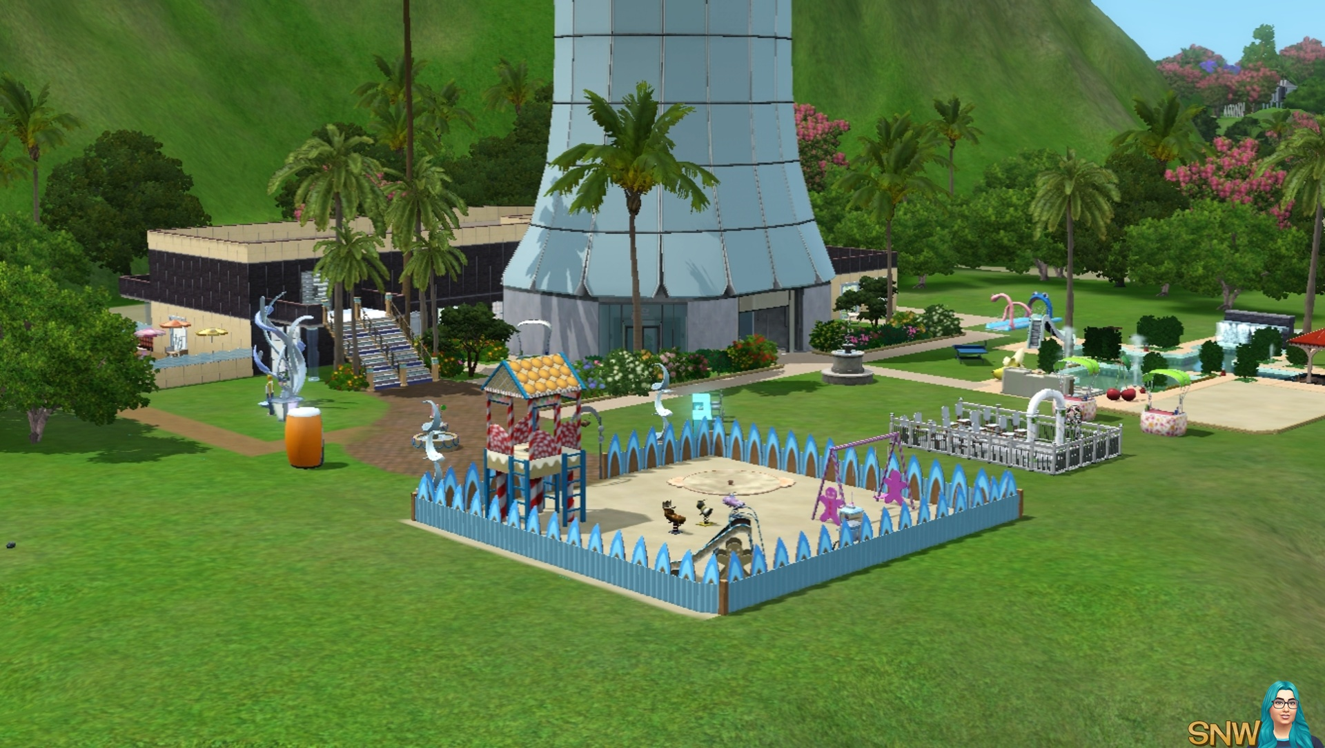 Modern Familie Resort Snw Simsnetwork Com